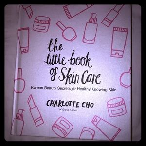 skincare book by the Charlotte cho from solo glam